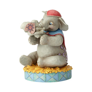 Disney Jim Shore Traditions Mrs. Jumbo and Dumbo Resin Figurine New with Box