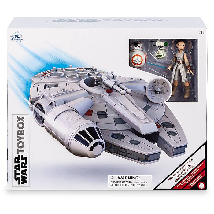 Disney Millennium Falcon Play Set Star Wars Toybox New with Box