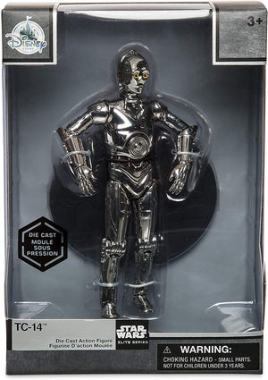 Disney Star Wars TC-14 Die Cast Action Figure Star Wars Elite Series New w Box