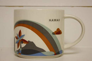 Starbucks You Are Here Hawaii Ceramic Coffee Mug New with Box