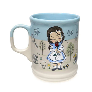 Disney Animators' Collection Tiana Belle Cinderella Coffee Mug New