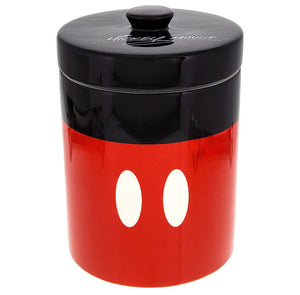disney parks signature mickey mouse canister cookie jar ceramic new