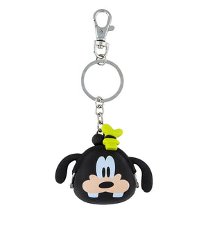 Disney Parks Goofy Coin Purse Silicone Keychain New with Tags