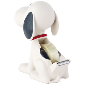 Hallmark Peanuts Snoopy Ceramic Tape Dispenser New
