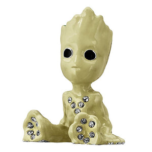 Disney Parks Groot Figurine by Arribas Swarovski Jeweled Mini New with Box