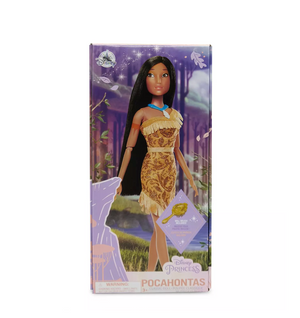 Disney Princess Pocahontas Classic Doll with Brush New with Box