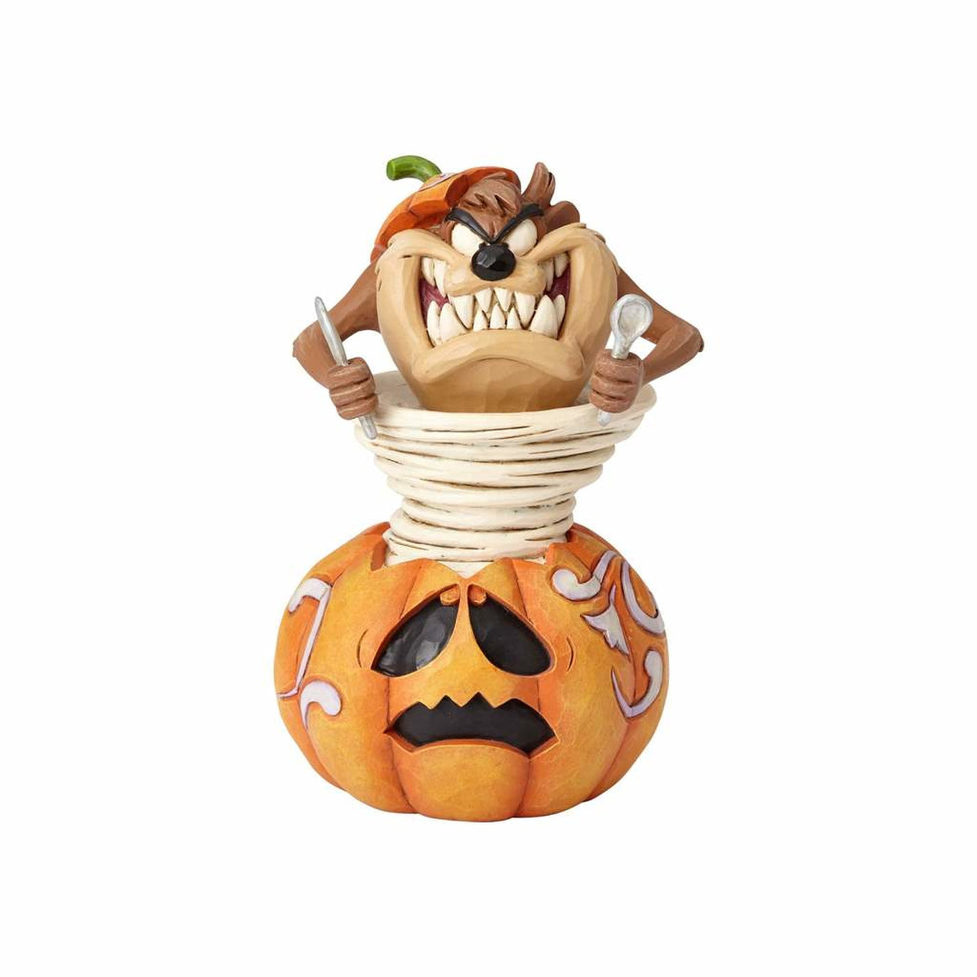 looney tunes halloween taz jim shore resin figurine new with box – i