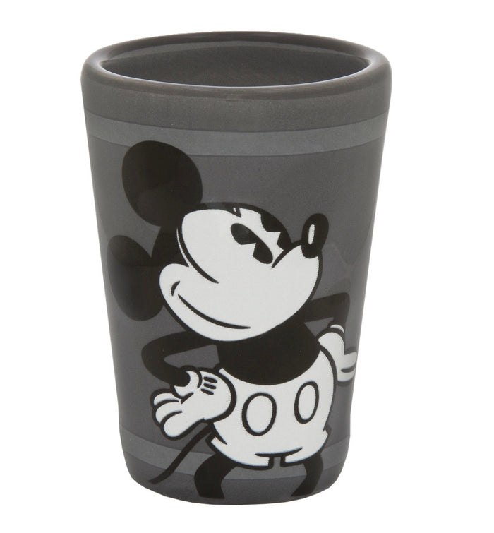 disney parks mickey black & white the mouse in the house shot glass new