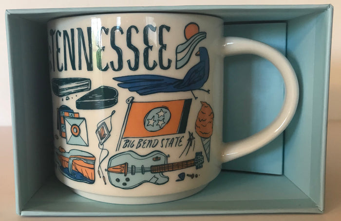 Starbucks Been There Series Collection Tennessee Coffee Mug New With Box