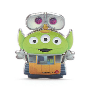 Disney Toy Story Alien Pixar Remix Pin Wall-e Limited Release New