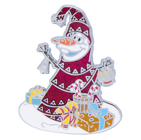 Disney Parks Frozen Olaf Christmas Tree Holiday Pin New with Card