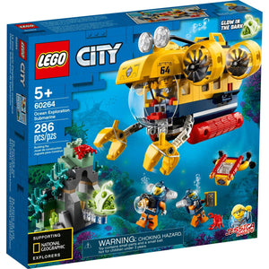 Lego 60264 City Ocean Exploration Submarine Building Set New with Sealed Box