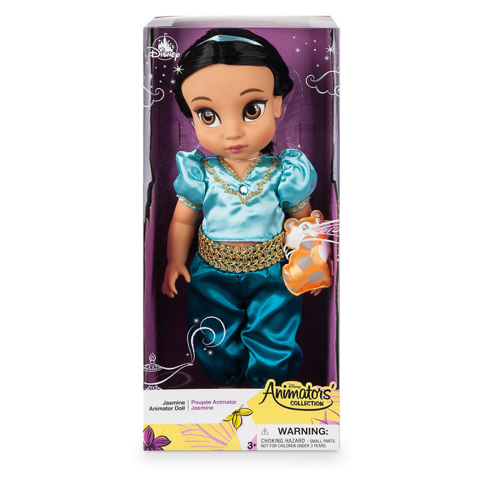 Disney 2019 Animators' Collection Aladdin Jasmine with Raja Doll New with Box