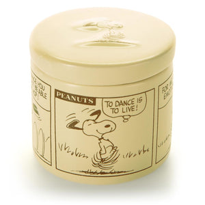 Hallmark Peanuts Snoopy Comic Strip Ceramic Box New