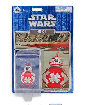 Disney Parks Star Wars BB-H20 Christmas Holiday Droid Factory New with Box
