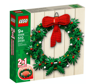 Lego 40426 Christmas Wreath 2 in 1 510 pieces New with Tags