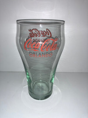 Authentic Coca-Cola Coke Soda Glass Orlando New
