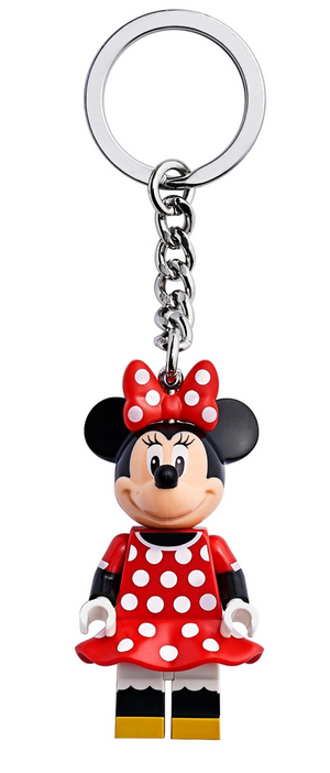 Lego Disney Minnie Mouse Key Chain 853998 New with Tag