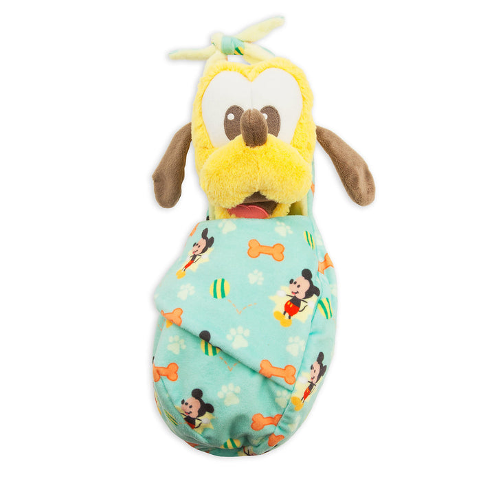 Disney Parks Baby Pluto in a Blanket Pouch Plush New with Tags