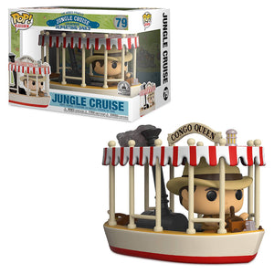Disney Jungle Cruise Congo Queen Boat POP! Rides Vinyl Figure by Funko New Box