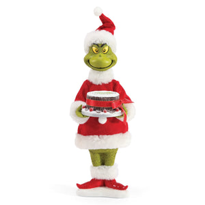 Jim Shore Grinch I Love Like Fruitcake Figurine New with Box
