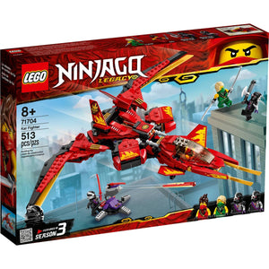 Lego 71704 NINJAGO Legacy Kai Fighter Ninja Building Kit New with Sealed Box