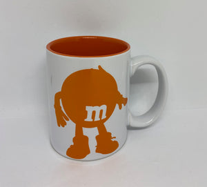M&M's World Orange Silhouette Nope Nope Nope Nope Coffee Mug New
