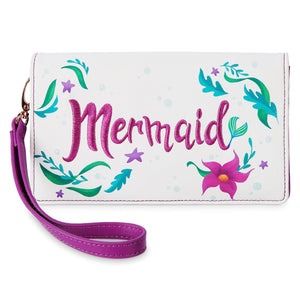 Disney Parks Princess Mystique Ariel ''Mermaid'' Crossbody Wallet New with Tags