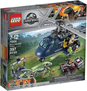 Lego 75928 Jurassic World Blue's Helicopter Pursuit New with Box