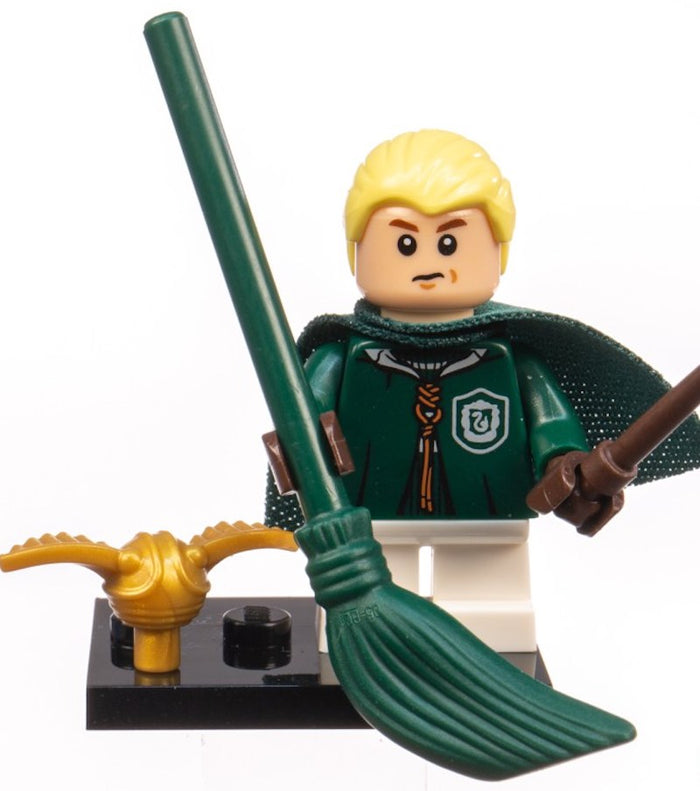 Lego Harry Potter Fantastic Beasts Minifigures Draco Malfoy Quidditch Robes New