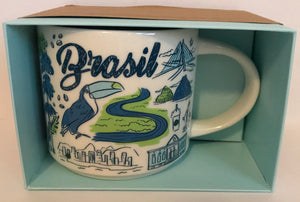 Starbucks Been There Series Collection Brazil Ceramic Coffee Mug New
