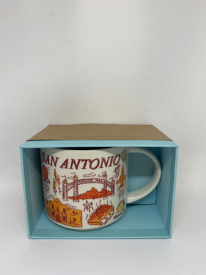 Starbucks Been There Series Collection San Antonio Texas Coffee Mug New With Box