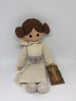 Disney Parks Star Wars Galaxy's Edge Princess Leia Plush New with Tag