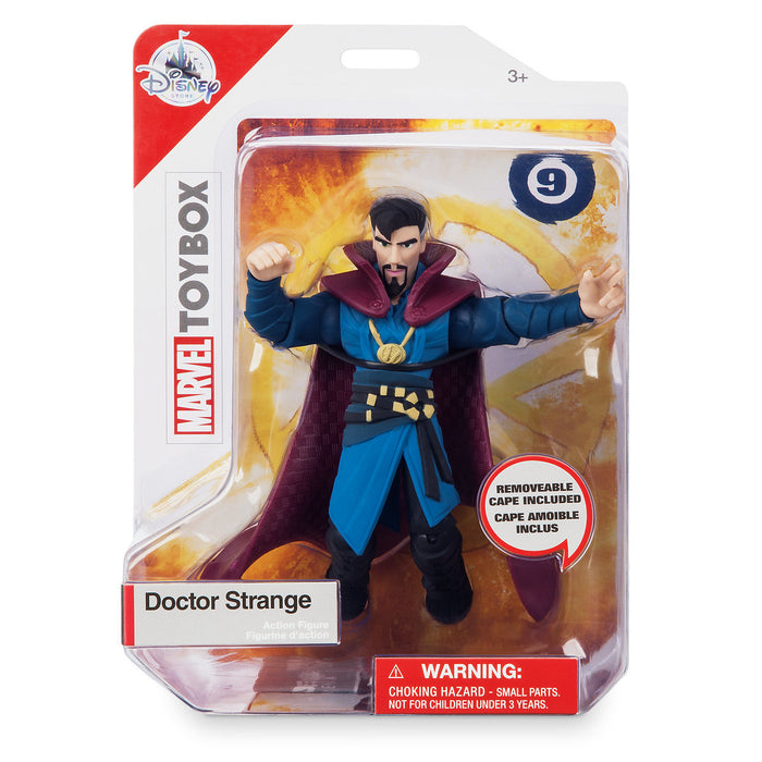 Disney Store Dr. Strange Action Figure Marvel Toybox New