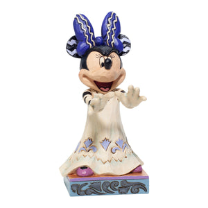 Disney Traditions Halloween Minnie Scream Queen Figurine Jim Shore New with Box