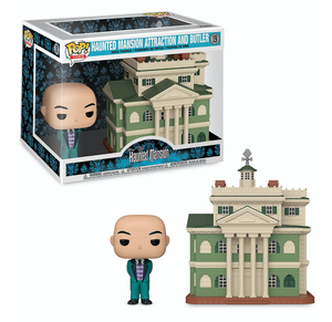 Disney Parks The Haunted Mansion and Butler Pop! Town Set Funko New with Box