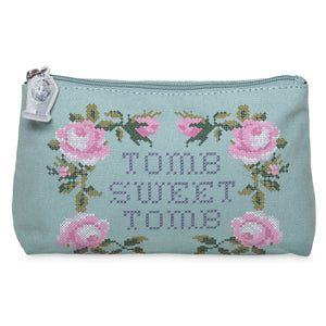 Disney Parks Tomb Sweet Tomb Haunted Mansion Zip Pouch New with Tags