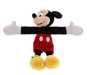 disney parks mickey mouse snuggle snapper plush slap bracelet new with tag