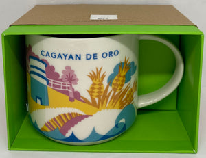 Starbucks Coffee You Are Here Cagayan De Oro Philippines Ceramic Coffee Mug New