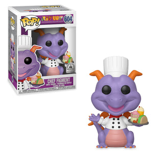 Disney Parks Exclusive Chef Figment Pop Vinyl Figure by Funko Food & Wine New