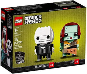 Lego 41630 BrickHeadz The Nightmare Before Christmas Jack and Sally New with Box