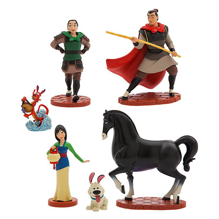 Disney Store Mulan Figure Play Set New with Box