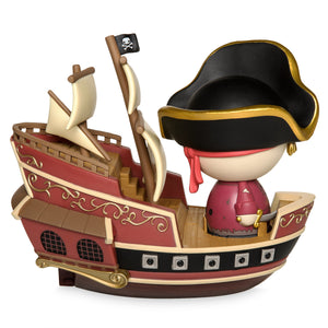 Disney Funko Parks Exclusive Jolly Roger with Pirate Ship Dorbz Ridez Vinyl Figure Set New