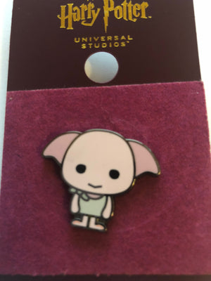 Universal Studios Harry Potter Dobby Cutie Pin New with Card
