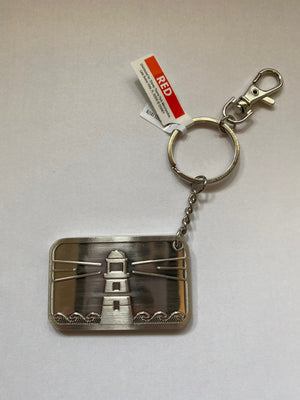 Disney Parks Old Key West Resort Plate Metal Keychain New with Tags