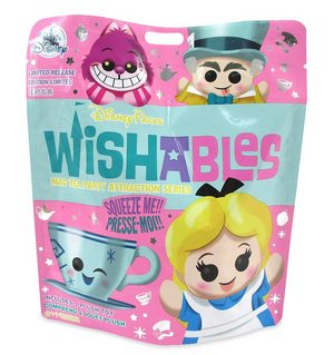 Disney Parks Mad Tea Party Alice Mystery Wishables Limited Plush New Sealed
