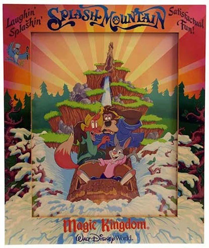 Disney Parks Magic Kingdom 8x10 Splash Mountain Picture Photo Frame New with Box