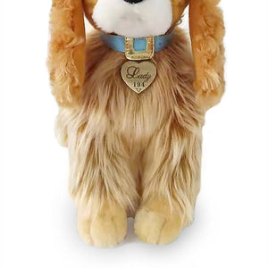 Disney Lady and the Tramp Live Action Lady Plush New with Tag
