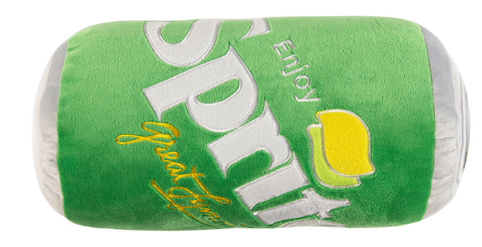 Authentic Sprite Can Pillow Yellow Throw Pillow New with Tags
