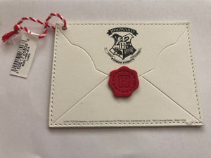 Universal Studios Harry Potter Acceptance Letter Christmas Ornament New with Tag